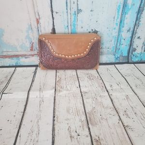 Western Wallet With Wristlet